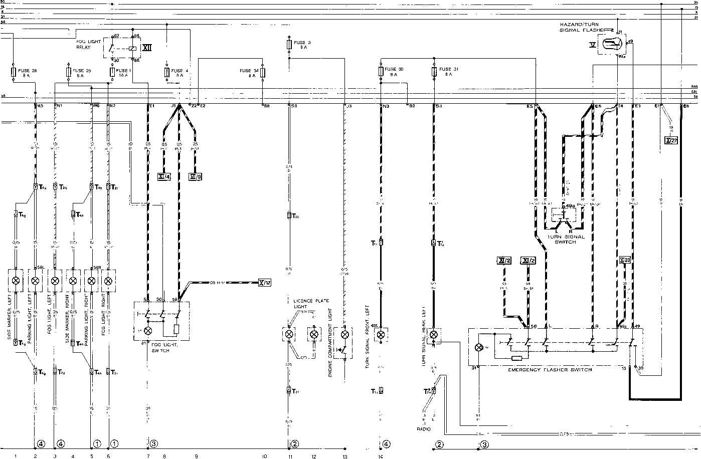 Current Row Diagram Type 928 Usa Model 80 Part Iv