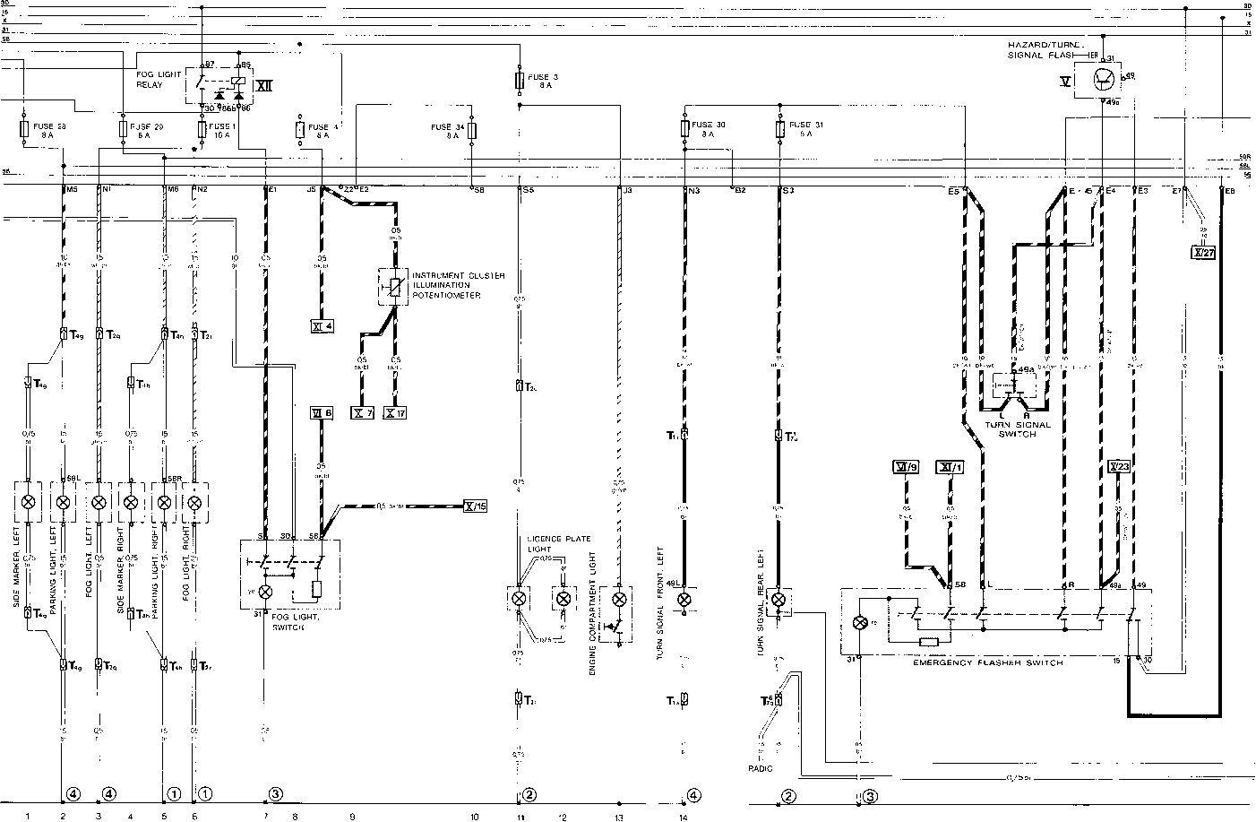 current row diagram type 928 s usa model 83 part iv flow diagram