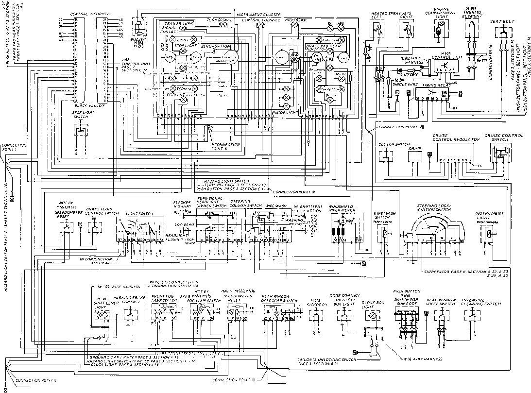 wiring diagram type 928 s model 84 page flow diagram