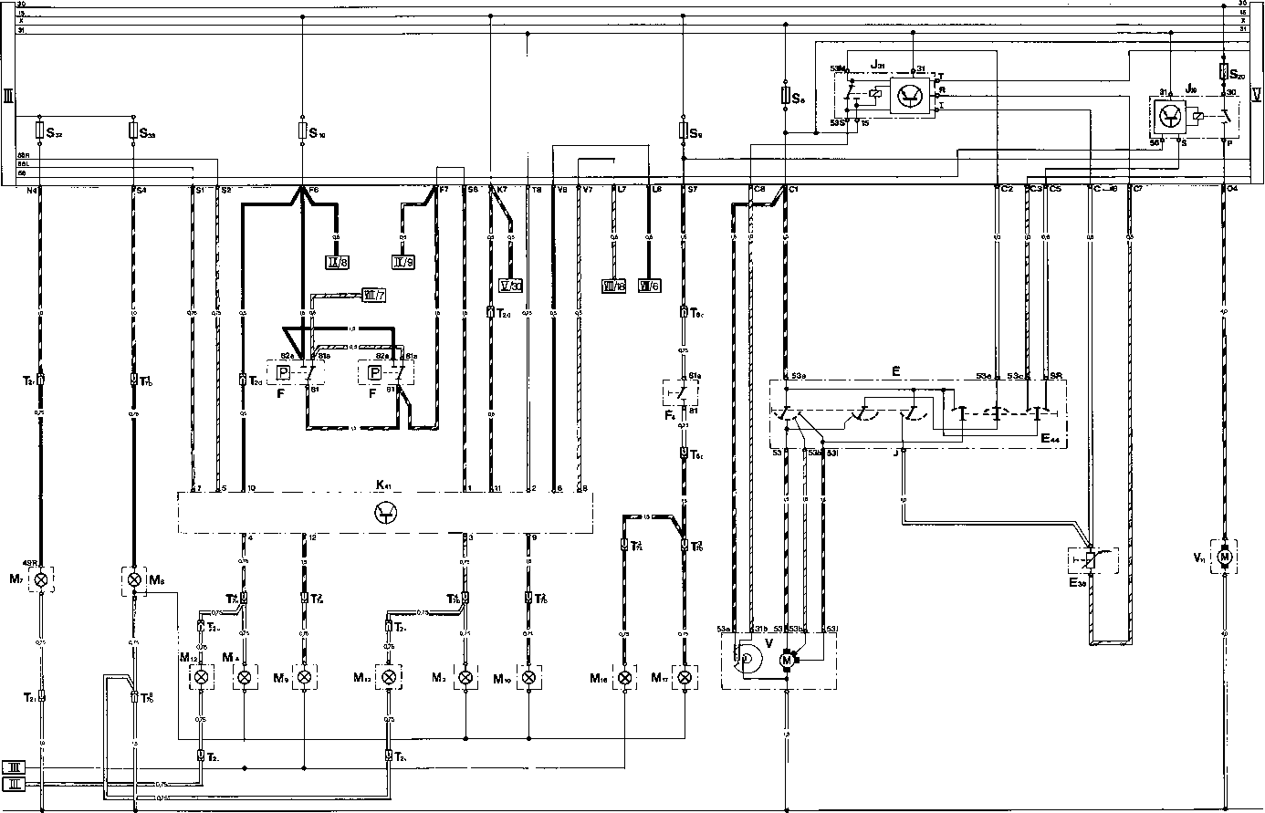 Current Flow Diagram Type 928 Usa Part Iv