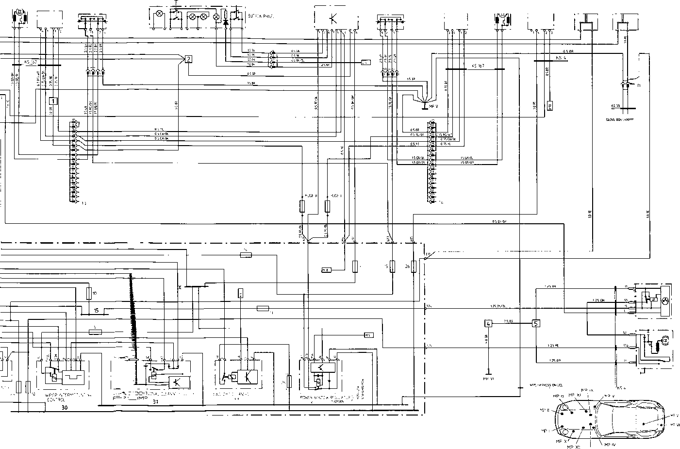 porsche 996 abs wiring diagram