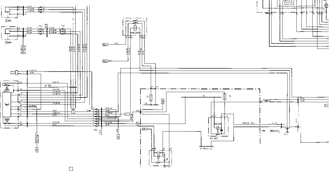 Wiring Diagram Type 928 S Model 88 Page