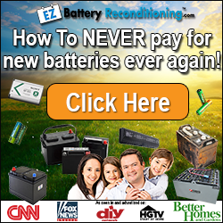 How to Recondition Batteries