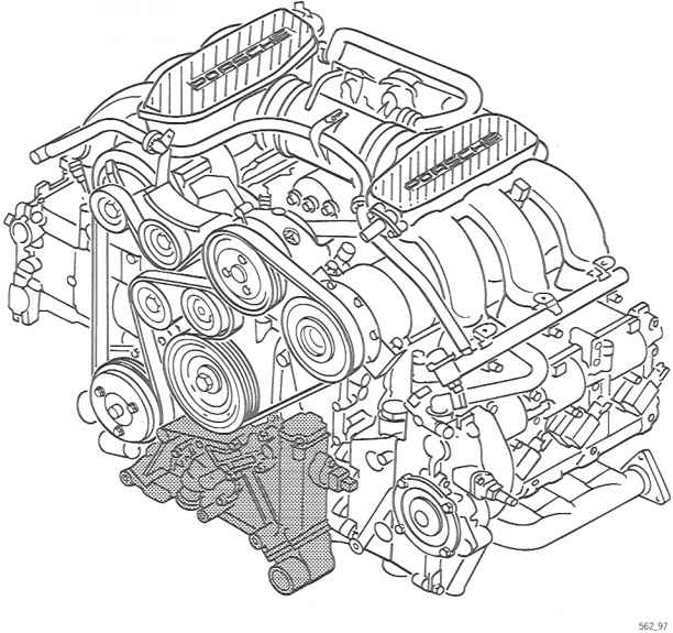 Porsche 986 Chain Guide Picture
