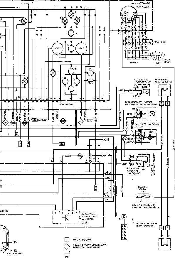 1989 Porsche 944 Wiring Diagram