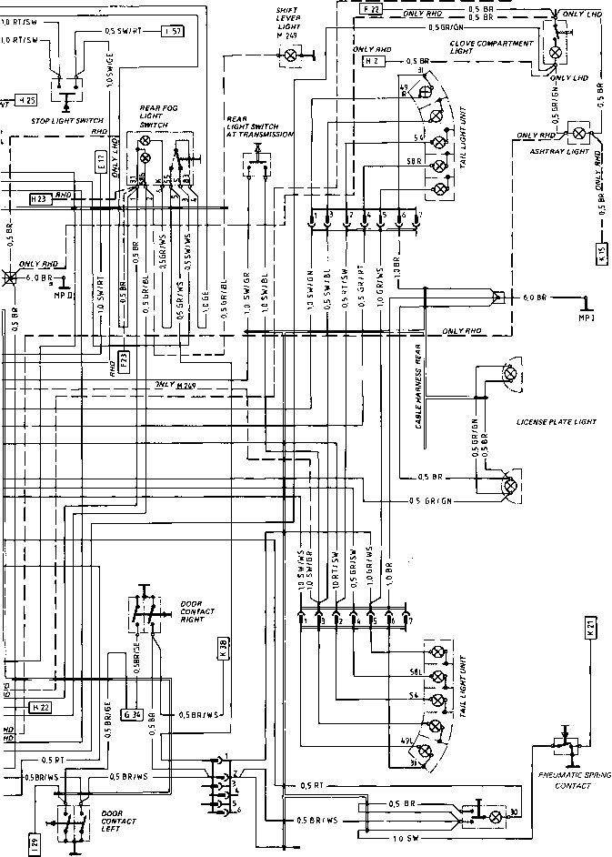 Porsche 944 Engine Layout