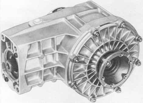 Porsche 964 Turbo Differential