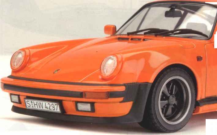 Painting The Tamiya Porsche 911 Turbo