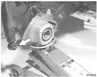 Remove Rotor Drive Shaft