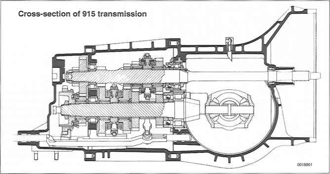Transmission Clutch General Porsche 911 1984 1989