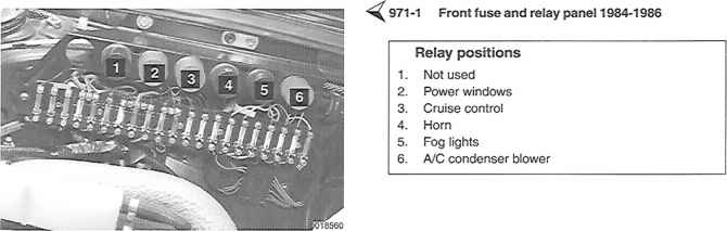 Porsche Relay List on Condenser Coil For Power Steering
