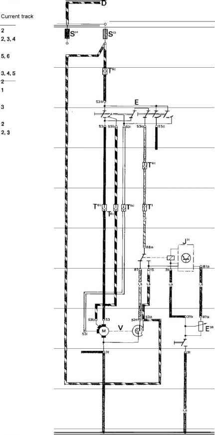 Additional Current Flow Diagram Intermittent Wiper
