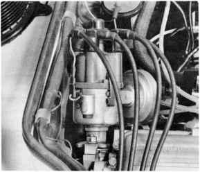 porsche 924 distributor wiring