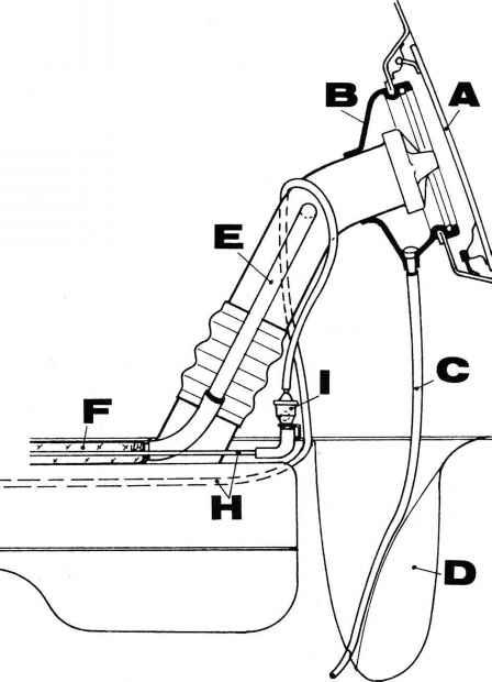 fuel evaporation control system