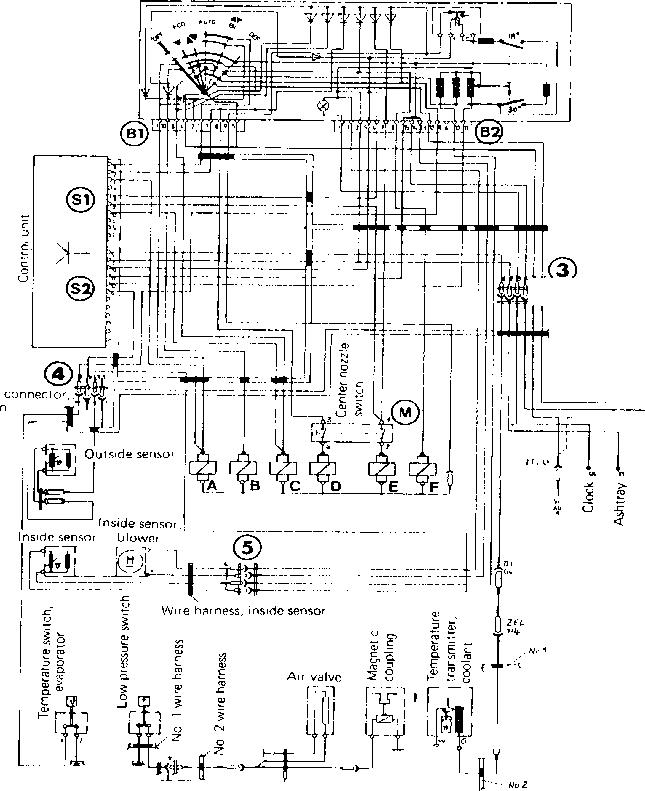 flap control - porsche 928 heating