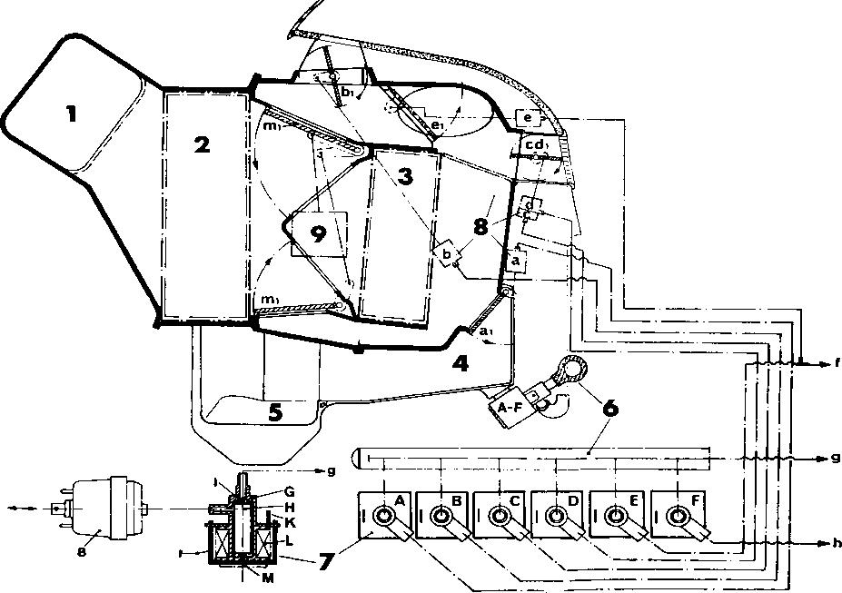 required parts - porsche 928 heating