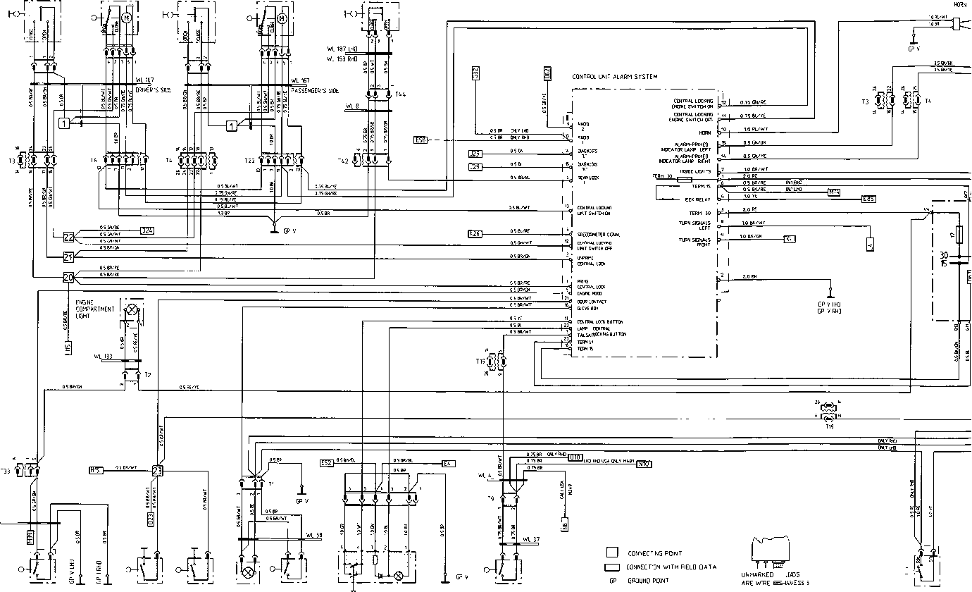 alarm system porsche 928 repair porsche archives car alarm circuit diagram porsche alarm wiring diagram