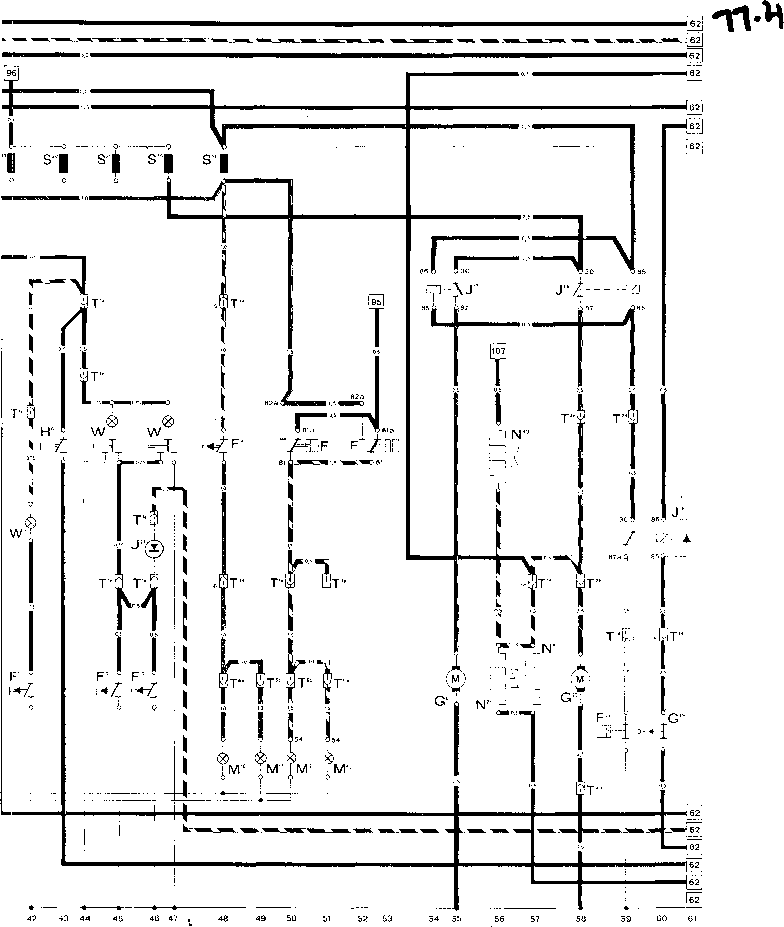 Current Flow Diagram 930 Turbo Usa Model