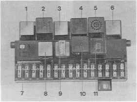 instruments consumption indicators burglar alarm porsche 944 electrics rh porscherepair us 1985 porsche 944 fuse box diagram Porsche 944 Fuse Box Lid