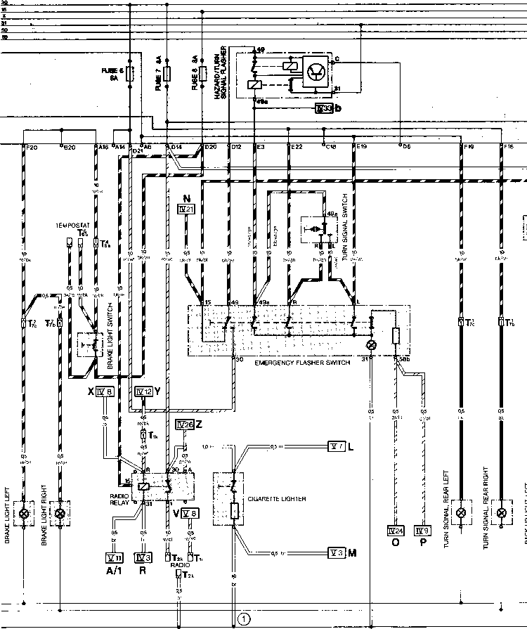 Current Flow Diagram Type 944 Usa Model