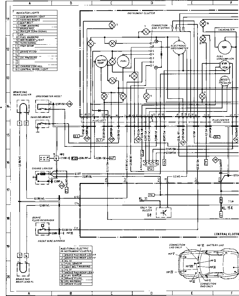 wiring diagram type 944944 turbo model 852 page 4 porsche 944 rh porscherepair us porsche 944 wiper motor wiring diagram Porsche 944 Turbo Diagram