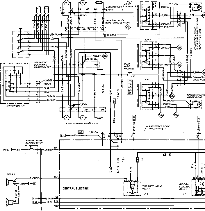 wiring diagram type 944944 turbo model 852 page porsche 944 electrics