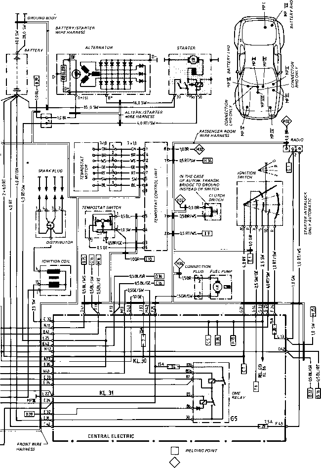 85 porsche 944 wiring diagram wiring diagram type 944944 turbo model 852 page porsche #6