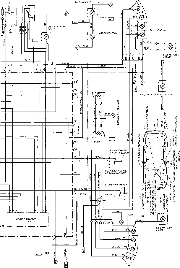 porsche 911 ke light wiring diagram  u2022 wiring diagram for free