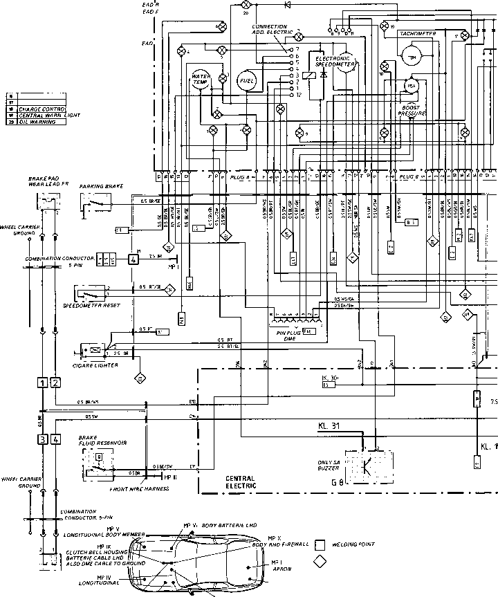 2120_46_145 instrument cluster diagram wiring diagram type 944944 turbo 944 s model 87 porsche 944 Chevy Wiring Harness Diagram at gsmportal.co