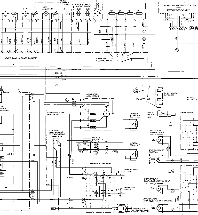 wiring diagrams for 86 porsche 944