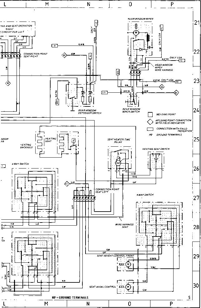 l - porsche 944 electrics