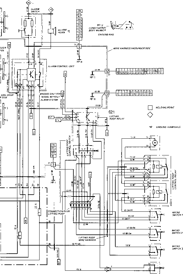 Wiring Diagram Type 944944 Turbo 944 S Model 87 She 1 on porsche 944 wiring diagram