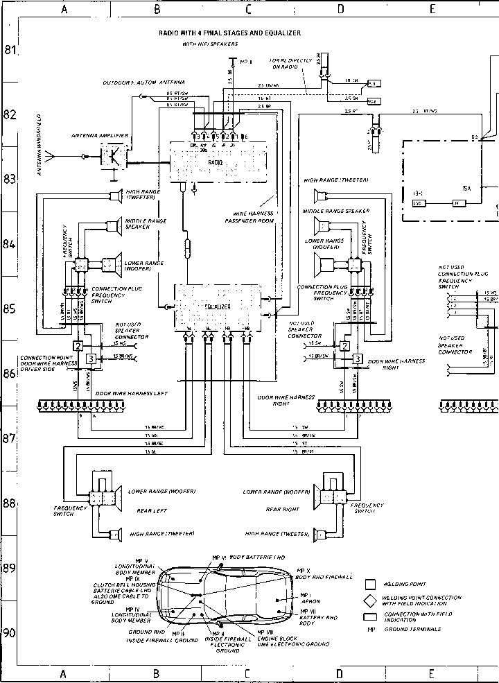 Wiring Diagram Type 924 S Model 87 Sheet Porsche 944 Electrics on 1984 porsche 928 problems