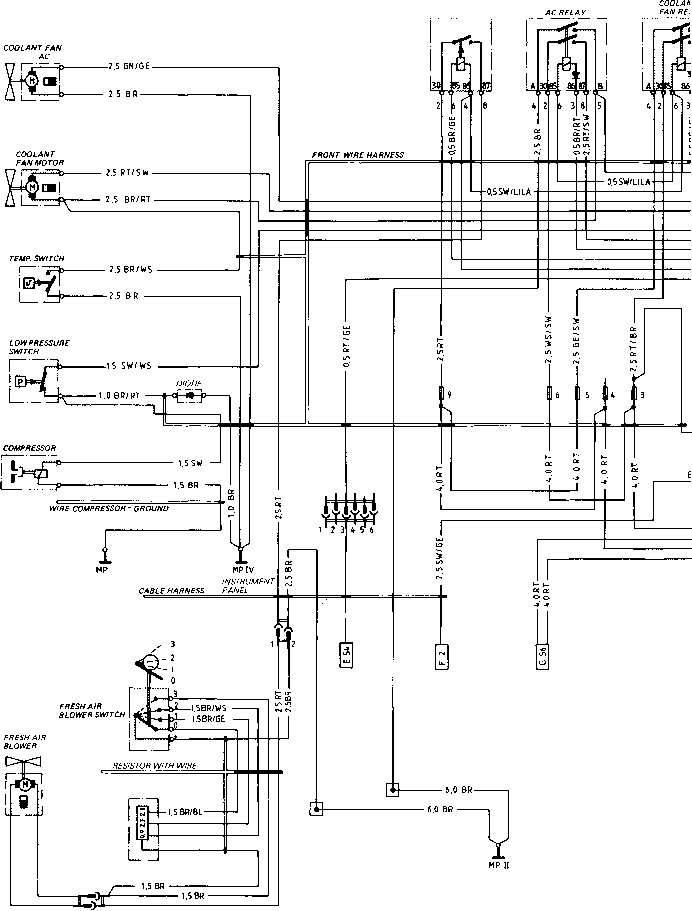 1974 porsche fuel system diagram