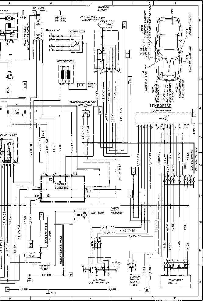 1990 porsche 911 engine diagram