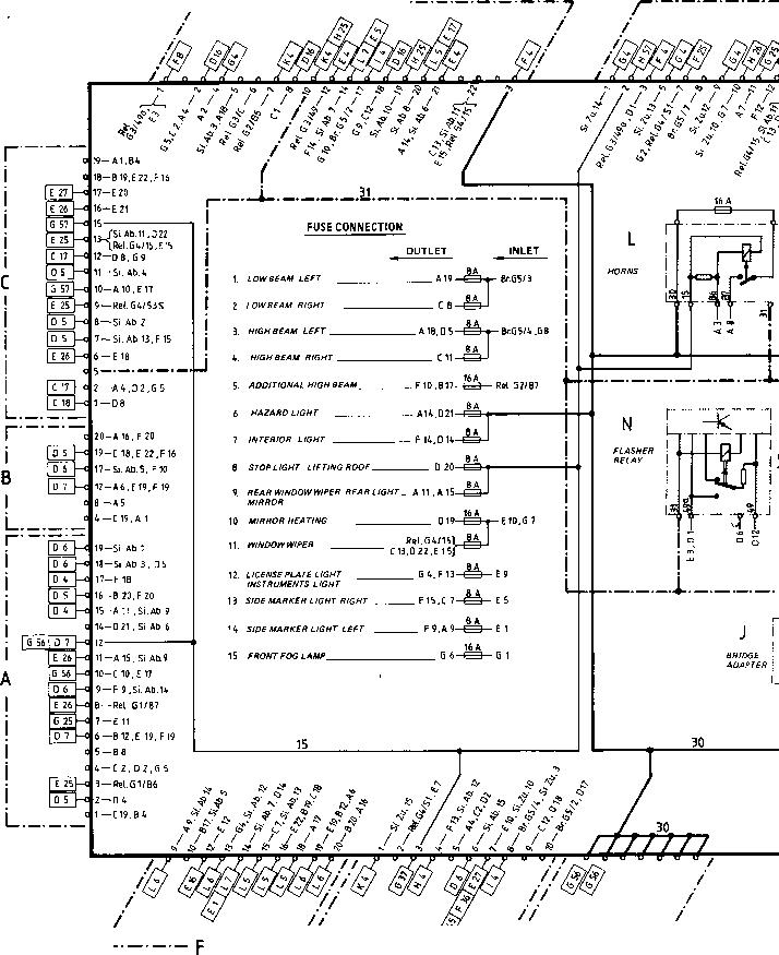 wiring diagram type 924 s model 86 sheet porsche 944. Black Bedroom Furniture Sets. Home Design Ideas