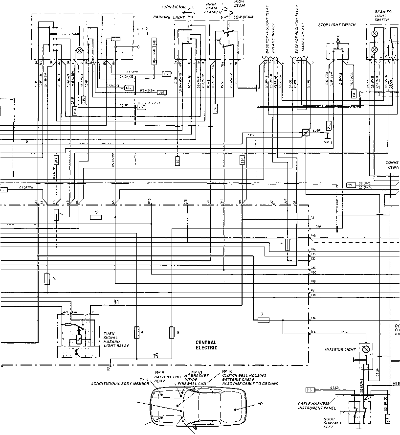 1989 porshce 930 engine wiring diagram engine wiring