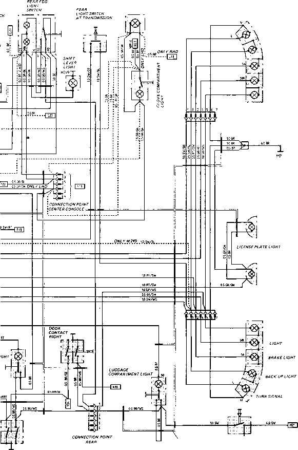 porsche 1984 944 radio wiring diagram