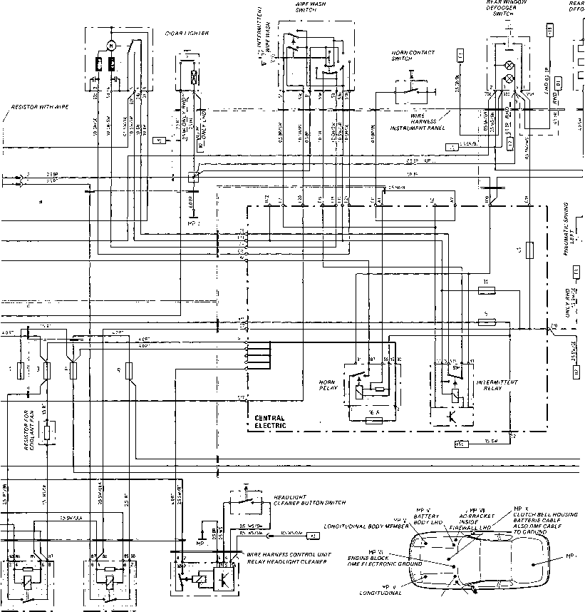 wiring harness terminals with Wiring Diagram Type 924 S Model 87 Sheet 4 on Hall Effect Ignition Module Schematic also Electrical together with P 0900c152800c2d0e besides P 0900c15280074e35 moreover P 0900c152800926e3.