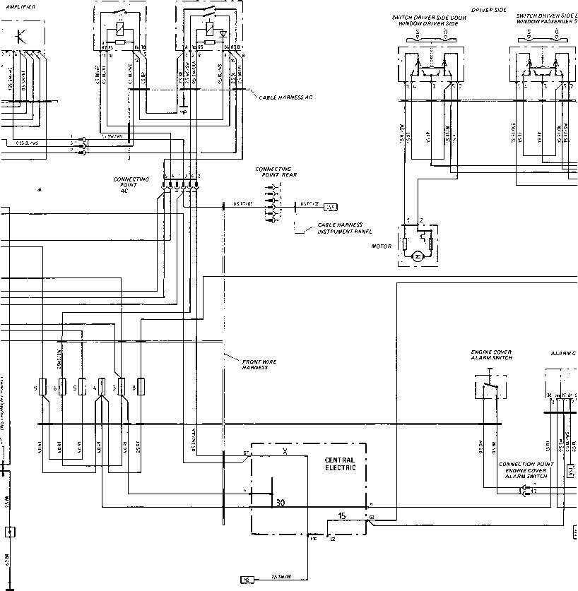 wiring diagram type 924 s model 87 sheet porsche 944 electrics