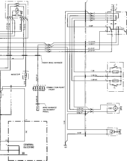 wiring diagram type 924 s model 87 sheet porsche 944 electrics rh porscherepair us
