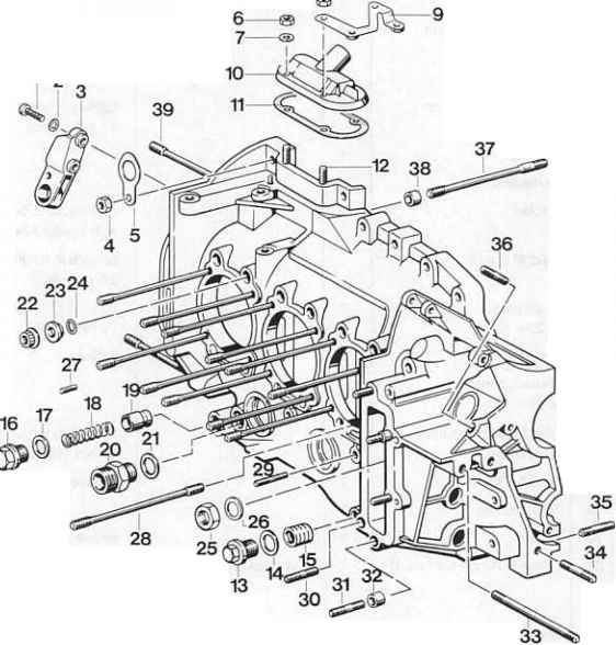 Engine Block Schematic
