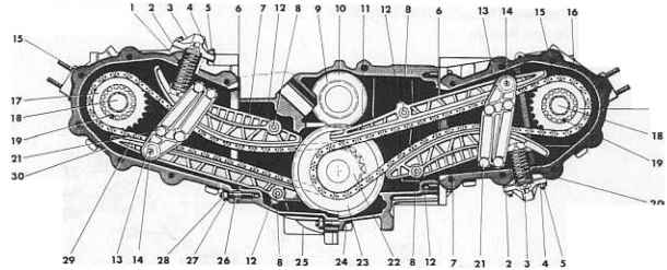 porsche boxster bearing diagram