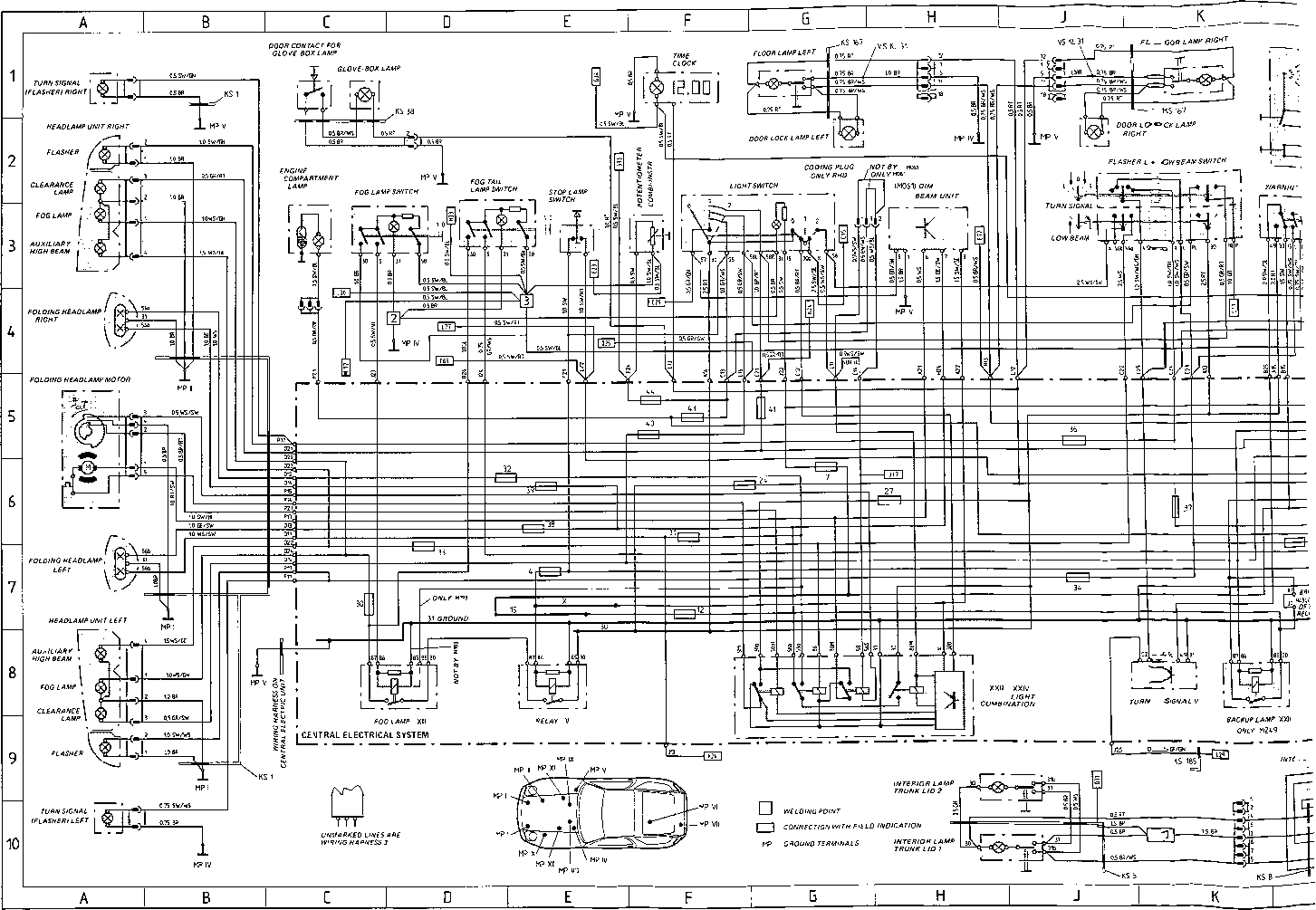Wiring Diagram Type 928 S Model 8 Page