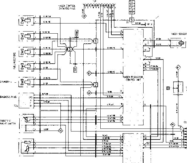 wiring diagram type 944 944 turbo 944 s model 89 sheet